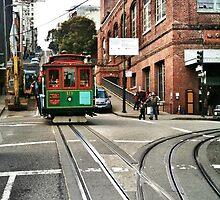 San Francisco cable car by Analia