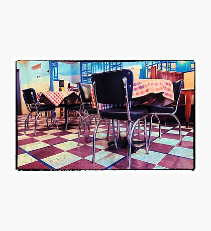 Old  Time Burger Joint Photographic Print