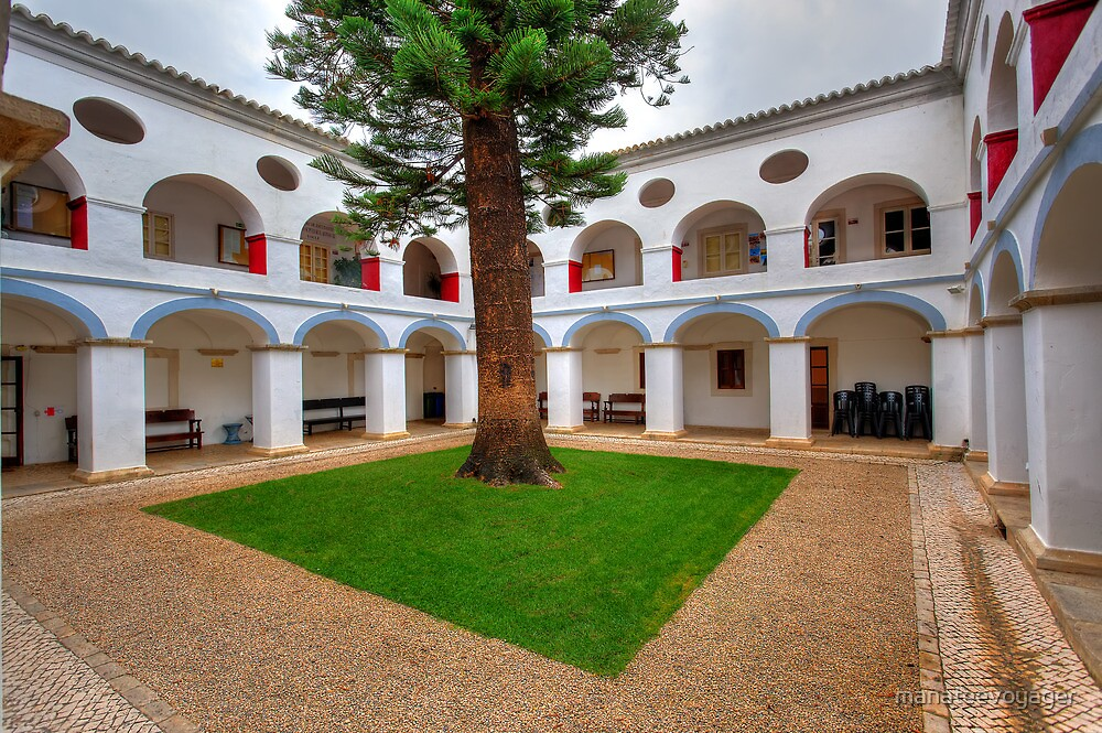 The Convent Loule by manateevoyager