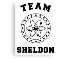 TBBT - Team Sheldon Canvas Print