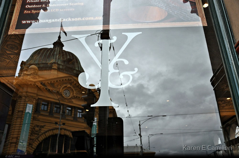 Icons in Reflection by Karen E Camilleri