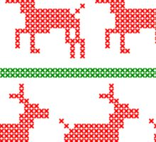 Christmas Sweater (Red and Green) Sticker