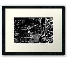Old Mining Truck Framed Print