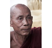 Hpa-An: Monk Photographic Print