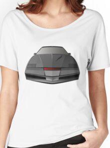 Knight Rider KITT Car  Women's Relaxed Fit T-Shirt