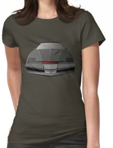 Knight Rider KITT Car  Womens Fitted T-Shirt