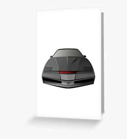 Knight Rider KITT Car  Greeting Card
