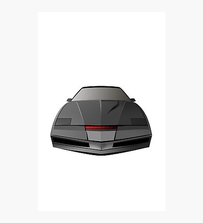 Knight Rider KITT Car  Photographic Print