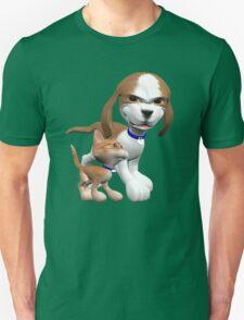 Brave Little Kitty  Unisex T-Shirt