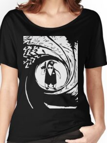 Double Oh Penguin Women's Relaxed Fit T-Shirt