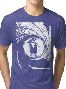 Double Oh Penguin Tri-blend T-Shirt