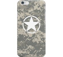 Digital Camo Army Invasion Star iPhone Case/Skin