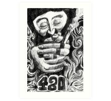 420 Art Print