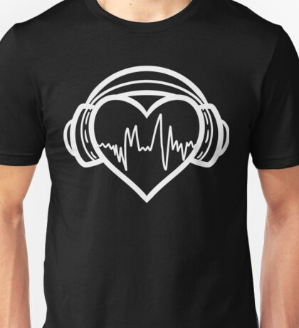 I love music. Unisex T-Shirt