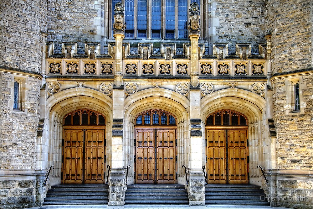 Bonython Hall by Christine Smith