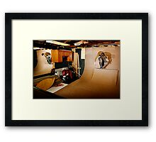Christopher - Smith Tail Block - Chicago - Photo Bart Jones Framed Print