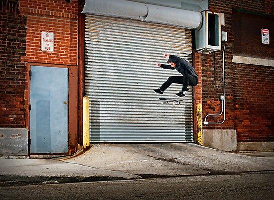 Marty Murawski - Frontside Flip - Chicago - Photo Bart Jones by Reggie Destin Photo Benefit Page
