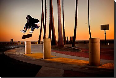 Pat Pasquale - Frontside Heelflip - Huntington Beach, CA - Photo Bart Jones by Reggie Destin Photo Benefit Page