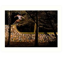Tom Gallagher - Front Rock - St Charles, IL - Photo Bart Jones Art Print