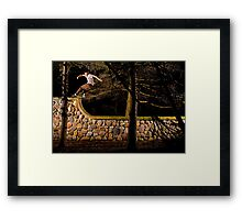 Tom Gallagher - Front Rock - St Charles, IL - Photo Bart Jones Framed Print