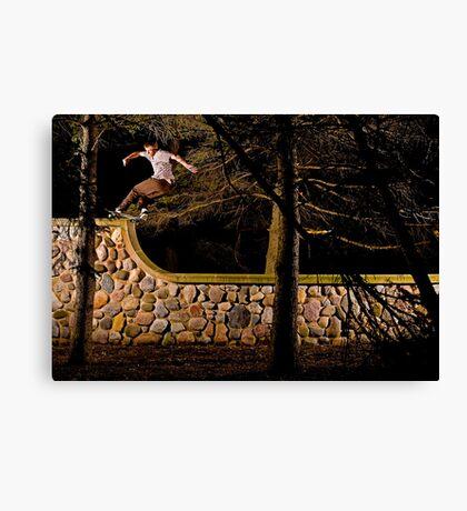 Tom Gallagher - Front Rock - St Charles, IL - Photo Bart Jones Canvas Print