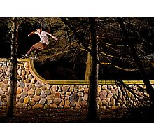 Tom Gallagher - Front Rock - St Charles, IL - Photo Bart Jones Photographic Print