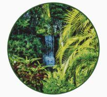 Bahamas - Tropical Waterfall Kids Clothes