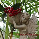 Garden Fairy: Holiday Greetings by aussiebushstick
