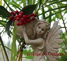 Garden Fairy: Holiday Greetings by aussiebushstick