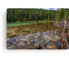 Rocky Cobblestones - 1st Lake Canvas Print