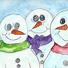 Snow Family by Deb Coats