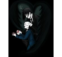 Don't Look Young Lord - Black Butler Fan Art by Climb The Ivy Photographic Print