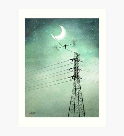 Balance in the Sky Art Print