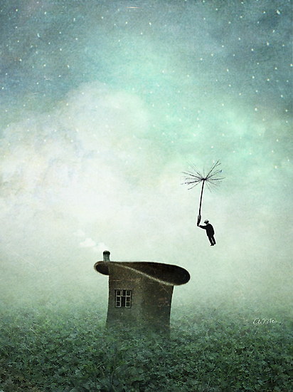 Coming home for dinner by Catrin Welz-Stein