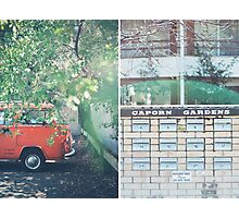 Orange Combi Photographic Print