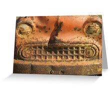 Rusty Comet Greeting Card
