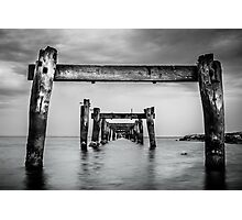 Remnants of the Past, Clifton Springs Photographic Print