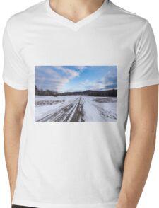 Winter in Canada 2015 Mens V-Neck T-Shirt