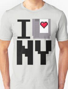 I 8-bit Heart New York T-Shirt