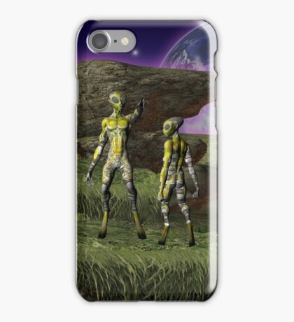 The Teacher .. science fiction iPhone Case/Skin