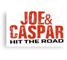 Joe & Caspar Hit The Road Canvas Print