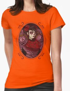 Dia de los Metroides Womens Fitted T-Shirt