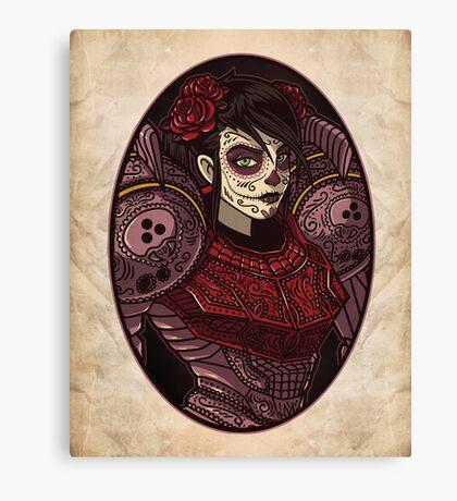 Dia de los Metroides Canvas Print