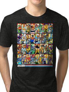 G.I. Joe in the 80s! (Version B) Tri-blend T-Shirt