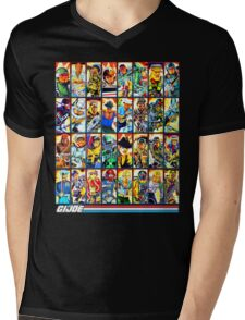 G.I. Joe in the 80s! (Version B) Mens V-Neck T-Shirt
