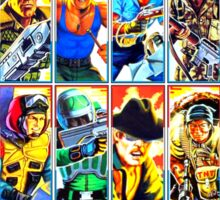 G.I. Joe in the 80s! (Version B) Sticker
