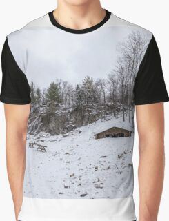 Winter in Eastern Canada Graphic T-Shirt