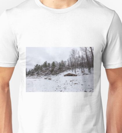 Winter in Eastern Canada Unisex T-Shirt