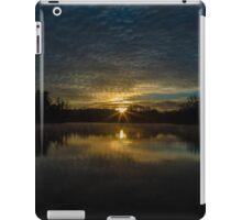 winter sun rise iPad Case/Skin