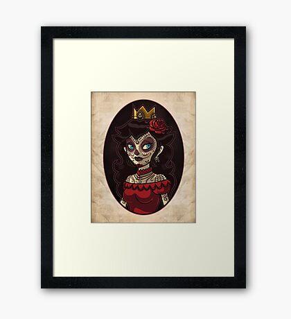 Dia de la Princesa Framed Print